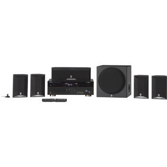 Yamaha YHT-595 5.1 Channel Home Theater in a Box System (Black)