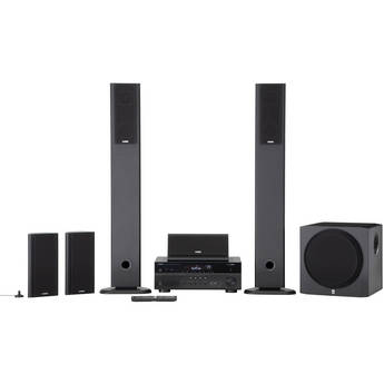 Yamaha YHT-897BL 5.1 Channel Home Theater in a Box System