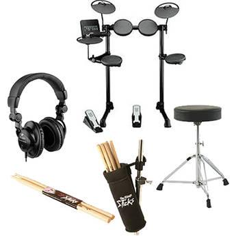 Yamaha DTX400K Electronic Drum Kit Value Bundle Kit