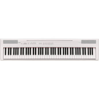 Yamaha P-105 - 88-Key Digital Piano with Graded Hammer Action (White)