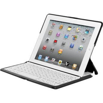 ZAGG ZAGGfolio for The new iPad and iPad 2 (White with Black Carbon Fiber Folio)