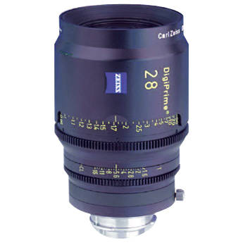 Zeiss DigiPrime 28mm T1.6 Cine Lens
