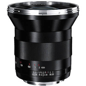 Zeiss Distagon T* 21mm f/2.8 ZE Lens for Canon EF