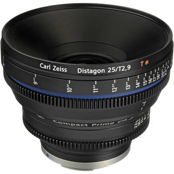 Zeiss Compact Prime CP.2 25mm/T2.9 Cine Lens (EF Mount)