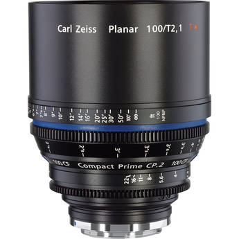 Zeiss Compact Prime CP.2 100mm/T2.1 CF Cine Lens (EF Mount)