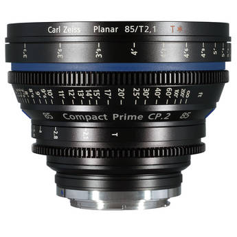 Zeiss Compact Prime CP.2 85mm/T2.1 Cine Lens (F Mount)