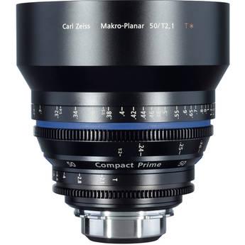 Zeiss Compact Prime CP.2 50mm/T2.1 Makro Cine Lens (F Mount)