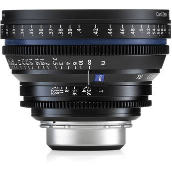Zeiss Compact Prime CP.2 18mm f/3.6 T PL Bayonet Mount Lens