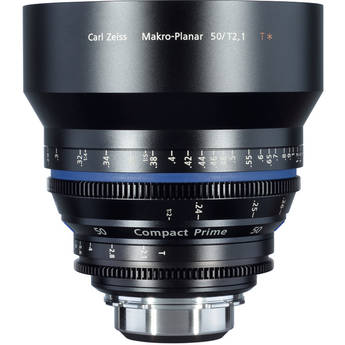 Zeiss Compact Prime CP.2 50 / T2.1 Makro Lens with Interchangeable Mount