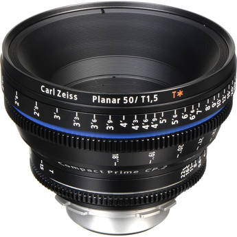 Zeiss Compact Prime CP.2 50mm/T1.5 Super Speed PL Mount with Imperial Markings