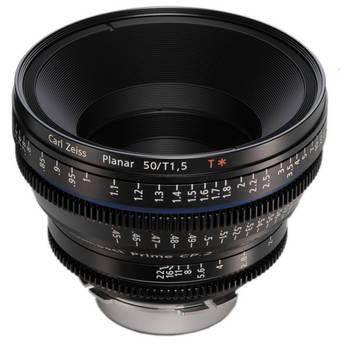Zeiss Compact Prime CP.2 50mm/T1.5 Super Speed F Mount with Imperial Markings