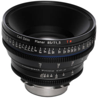 Zeiss Compact Prime CP.2 85mm/T1.5 Super Speed E Mount with Imperial Markings