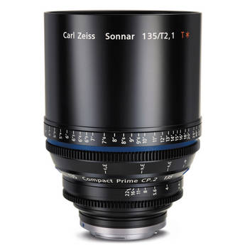Zeiss Compact Prime CP.2 135mm/T2.1 EF Mount with Imperial Markings