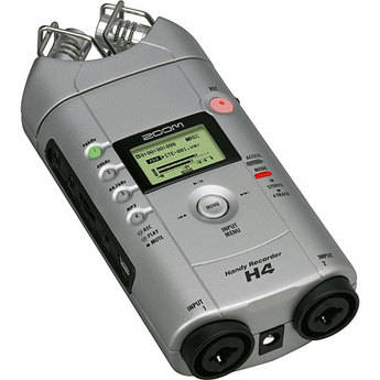 Zoom H4 Mobile Stereo Field Recorder