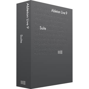 Ableton Live 9 Suite - Music Production Software (Upgrade)
