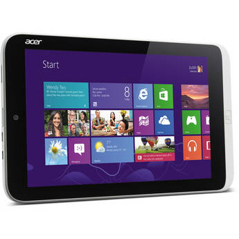 """Acer 64GB 8.1"""" Iconia W3 Tablet with MS Office Home & Student 2013"""