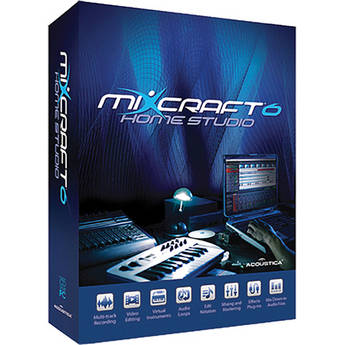 Acoustica Mixcraft 6 Home Studio - Music Recording Software