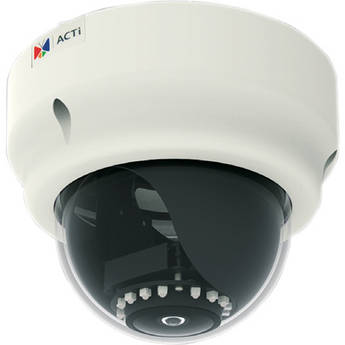 ACTi B53 5 Mp Superior WDR Day & Night Indoor IR Dome PoE Camera with Fixed Lens