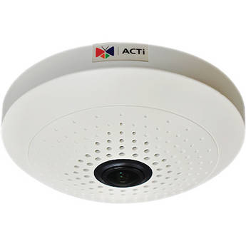 ACTi B55 10 Mp Basic WDR Day / Night Indoor PoE IP Dome Camera with Fixed Focus Fisheye Lens
