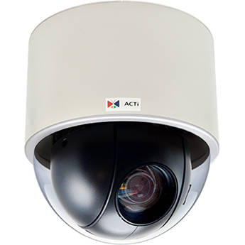 ACTi B923 3MP PTZ Network Dome Camera with 4.5-135mm Lens