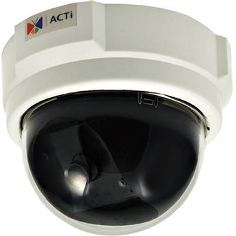 ACTi D52 3Mp Indoor Dome Color Camera with Fixed Lens