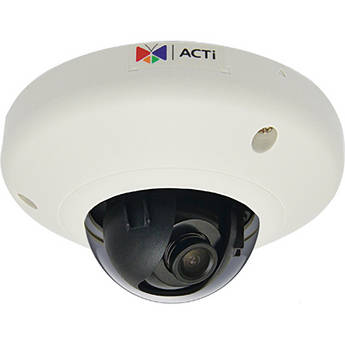 ACTi D92 3 Mp Indoor Mini Dome Camera with Fixed Lens