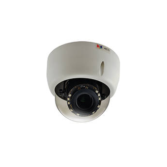 ACTi E610 10MP Day/Night Indoor IP Dome Camera with Adaptive IR, Basic WDR, & 3.1 to 13mm Varifocal Lens