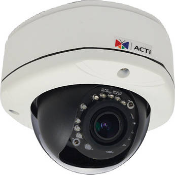 ACTi E82 3 Mp Day & Night IR Outdoor Dome Camera