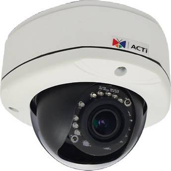 ACTi E83 5 Mp Day & Night IR Outdoor Dome Camera
