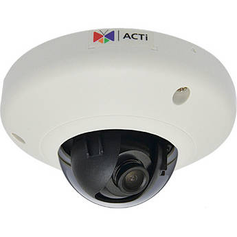ACTi E93 5 Mp 1080p Indoor Mini Dome Camera with Super Wide Angle Fixed Lens (NTSC)