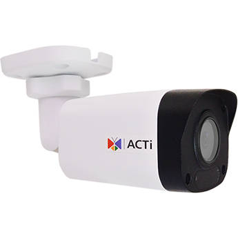 ACTi Z33 2MP Outdoor Network Mini Bullet Camera with Night Vision