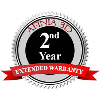 Afinia 2nd Year Extended Warranty for H800 3D Printer