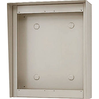 Aiphone GT-202HB 3-Module Hooded Surface-Mount Box for GT Entrance Panels (2 Horizontal x 2 Vertical)