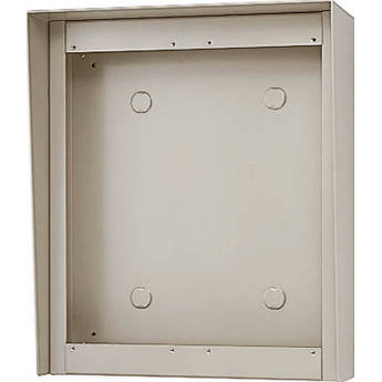 Aiphone GT-203HB 3-Module Hooded Surface-Mount Box for GT Entrance Panels (2 Horizontal x 3 Vertical)