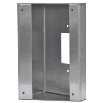 Aiphone SBX-AXDV30 Stainless Steel 30 Angle Box for the AX-DV Video Door Station
