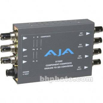 AJA D10AD Analog to Digital Video Converter (Encoder)