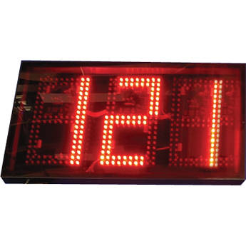 "alzatex DSP1003B 3-Digit Display with 10"" High LED Digits"
