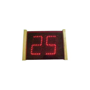 "alzatex DSP502B_OAKE 2-Digit Display with 5"" High LED Digits"