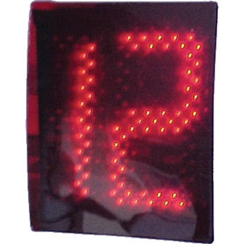 "alzatex DSP702B 2-Digit Display with 7"" High LED Digits"