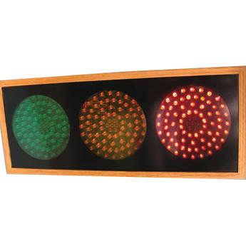 alzatex RYG472A_OAK Large Red-Yellow-Green Indicator