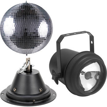American DJ M-600L Mirror Ball with Pinspot