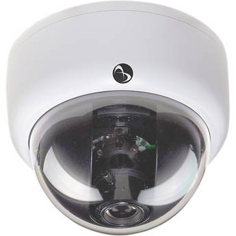 American Dynamics Discover 300 Mini-Dome Indoor Camera with Varifocal Lens (Black, PAL)