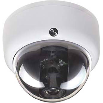 American Dynamics Discover 500 Mini-Dome Indoor Camera with Varifocal Lens (Black, PAL)