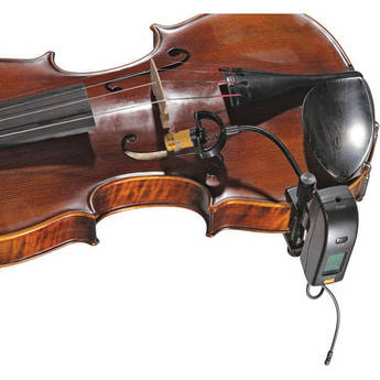 AMT VS-5C Clip-On Microphone with Wi5IIC Wireless System for Violin/Viola