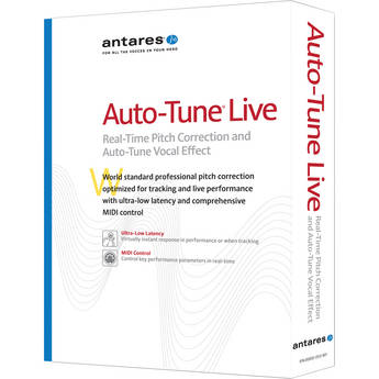 Antares Audio Technologies Auto-Tune Live Pitch Correction and Vocal Effect