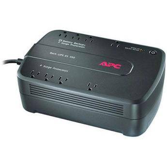 APC Back-UPS 550 8 Outlet Surge Protector and Battery Backup (120V)