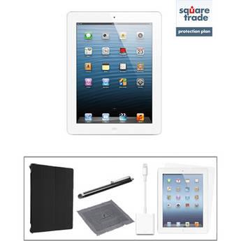 Apple 16GB iPad Kit with Retina Display and Wi-Fi (4th Gen, White)