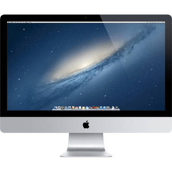 "Apple 27"" iMac Desktop Computer (4th-Gen Intel Haswell CPU)"