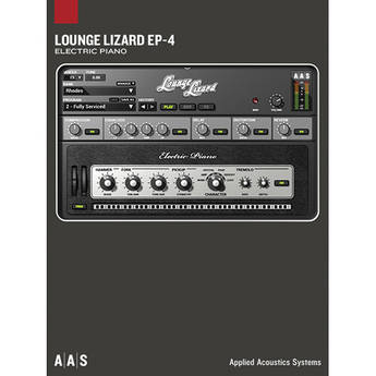 Applied Acoustics Systems Lounge Lizard EP-4 Electric Piano Synthesizer Upgrade