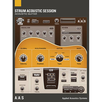 Applied Acoustics Systems Strum Acoustic Session - Acoustic Guitar Simulator Plug-In